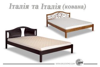 Ліжка з натуральної деревини Італія — Червоноградский ДОК