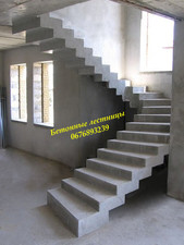 НАШИ РАБОТИ — Бетонная лестница