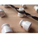 Провод витой для наружной проводки коричневый 2х1,5 мм2