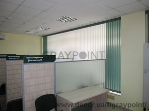 Жалюзи вертикальные тканевые — Graypoint