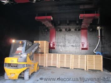 Сушильні камери для деревини JUVENAL (комплект обладнання)