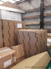 Доставка товаров из Италии на склад в Киеве — ЛЕМАК