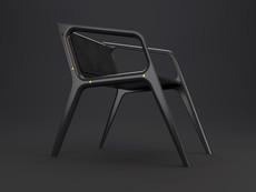 Дизайнерский стілець luna_001