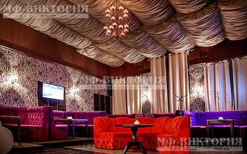 Диваны Бостон и Покер в лаунж баре — МФ-Виктория