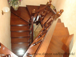 Лестница в загородном доме — НПФ СВК