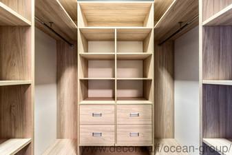 Гардеробная комната из ДСП — Ocean Group