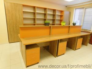 Офисная мебель на заказ для персонала и руководителей Киев — Профи Мебель