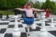 Шахматы для детей, напольные, Алиса в стране Чудес.