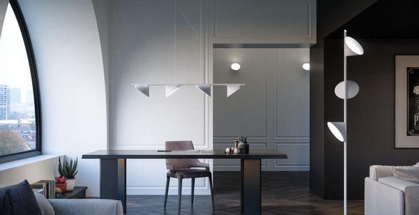 Цветочный дизайн в новой коллекции светильников для итальянского бренда
