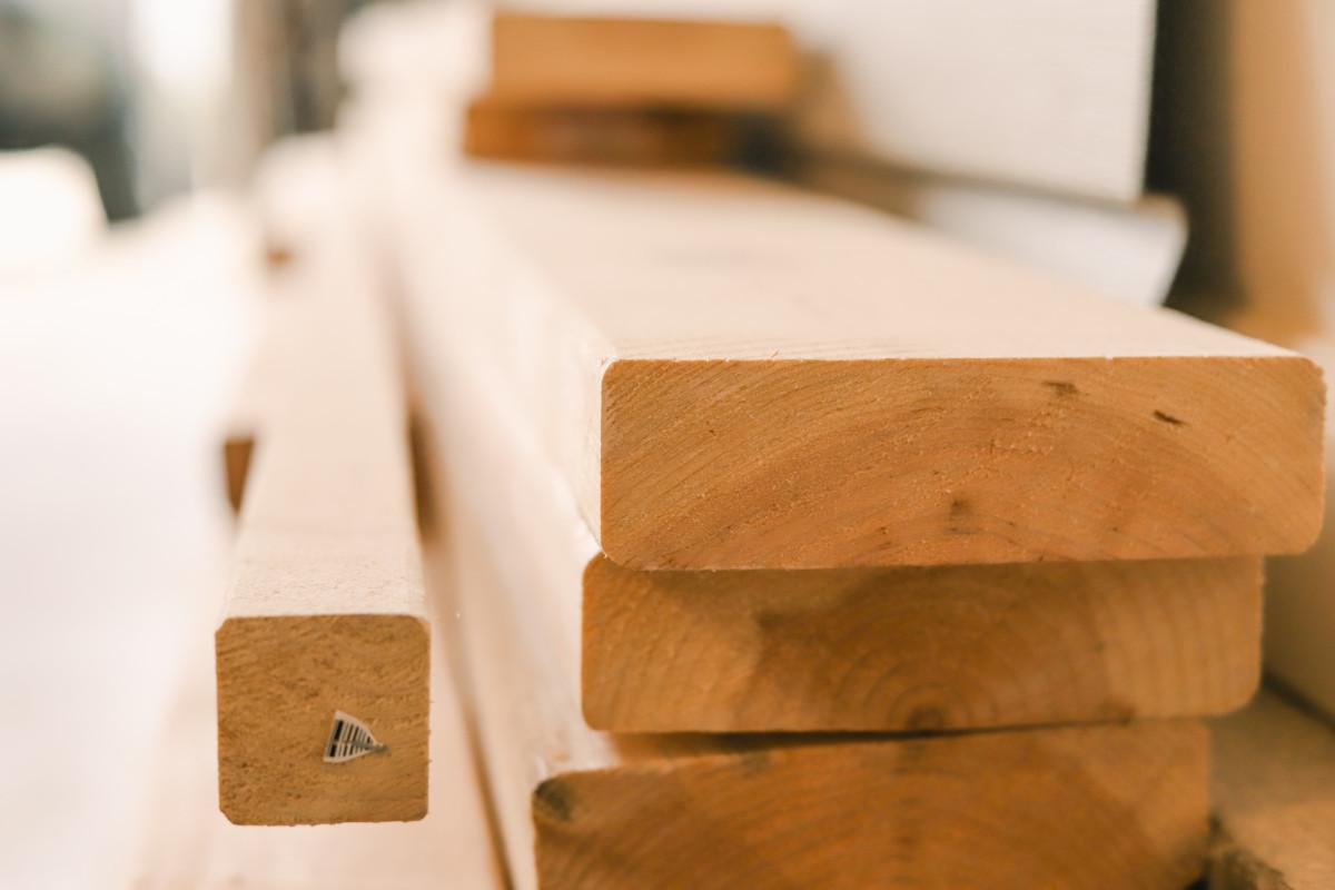 Обработанная древесина будет продаваться через электронные торги