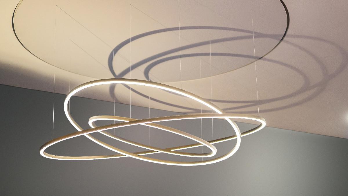 Разработан гибкий светильник для создания удивительных эффектов