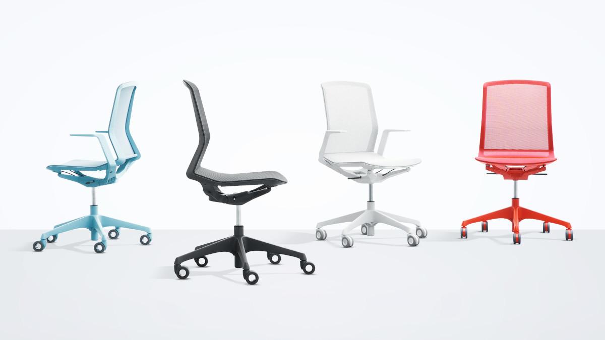 Вага офісного крісла зменшилася, але функціональність збереглася