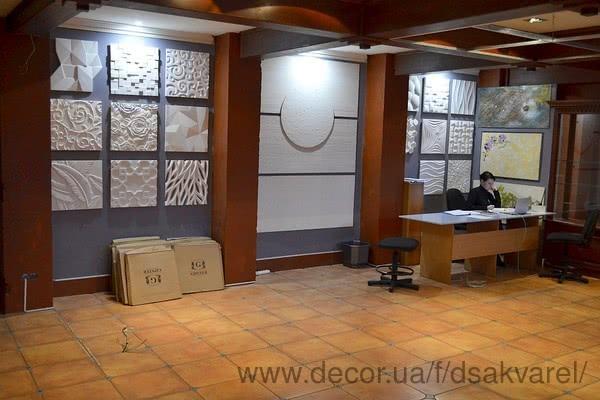 Открытие в Днепре нового выставочного салона DECOR стен