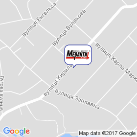 Меранти-плюс на карте