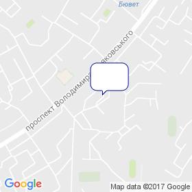 Анри на карте