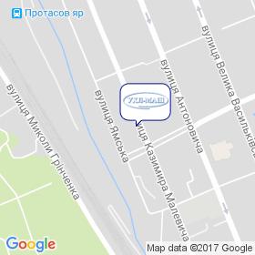 УХЛ-МАШ на карте