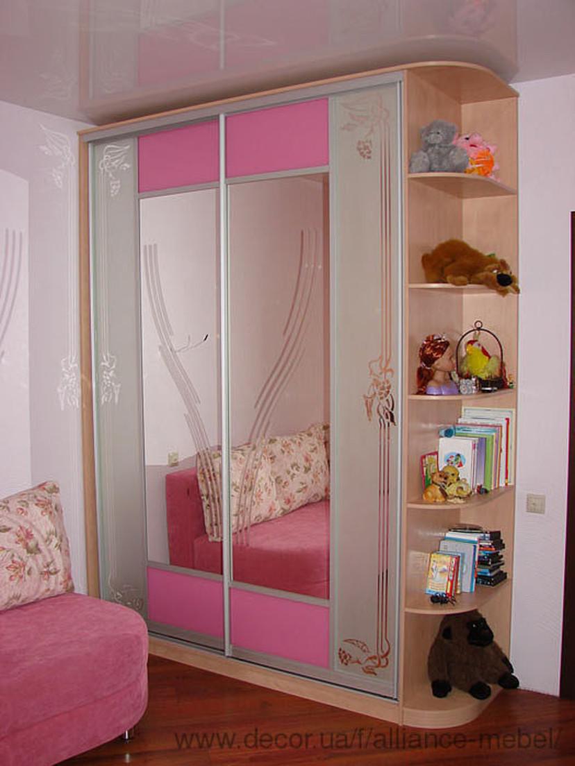 Дизайн детского шкафа