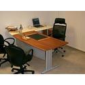 Офисный стол с каркасом Классика