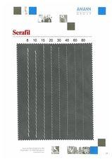 Serafil - образцы толщин — Рудхолм Юкрейн ЛТД