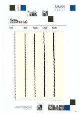 Serabraid - плетеная плоская нить, шнур для отделочных швов — Рудхолм Юкрейн ЛТД