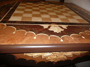 Шахматный стол Праздник. — Мебельная фабрика РАдеРА