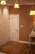 Белая дверь в классическом стиле DoorWooD тм межкомнатные двери — DoorWooD