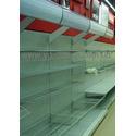 Супермаркеты электроники ТЕХНОПОЛИС. Стеллаж торговый. Стеллажи пристенные. Торговое оборудование WIKO