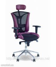 Компьютерное кресло Пилот с подголовником — Украинский Стандарт
